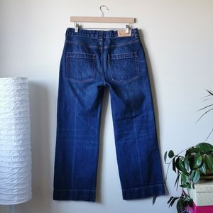 Levi's Made&Crafted Sailor Cropped Wide Leg